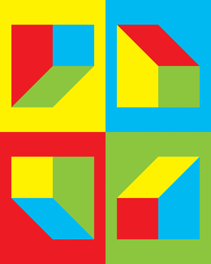 LIGHT-BLUE-GREEN-RED-AND-YELLOW-TRAPEZOID