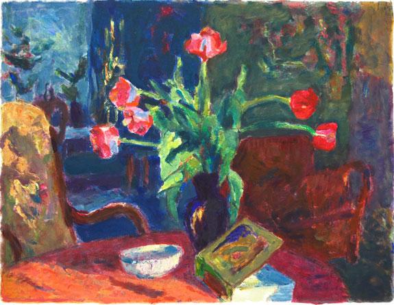 Oyrehagen-interior_med_tulipaner