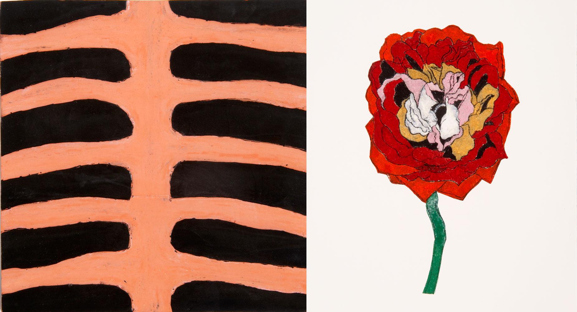 Rose og ribbein