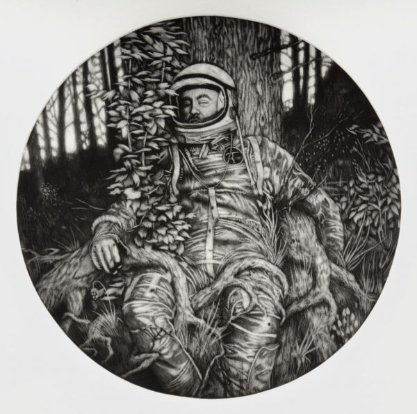 Tom Stian Kosmo - Surrender. Mezzotint