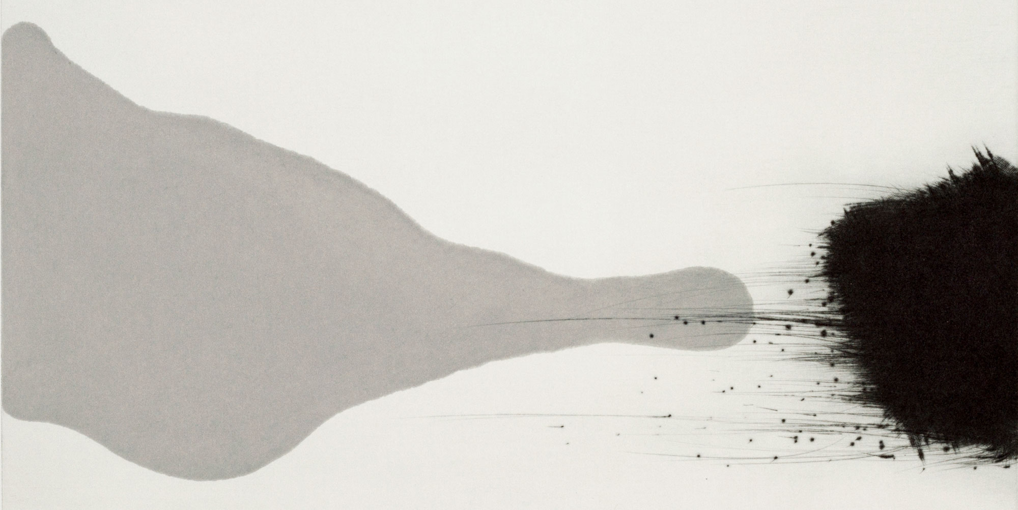Tiina Kivinen. How you care for Tamagotchi I – detail. Mezzotint, drypoint, aquatint. 37 x 37 cm