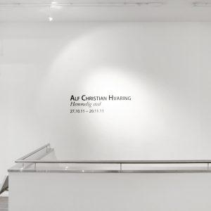 Alf Christian Hvaring - utstillingsbilde