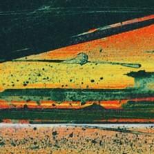 Magne Rygh - Panorama. Litografi, 80 x 14 cm