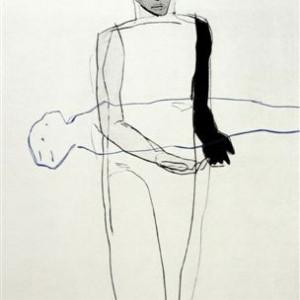 Terje Resell - Mann og svevende kvinne