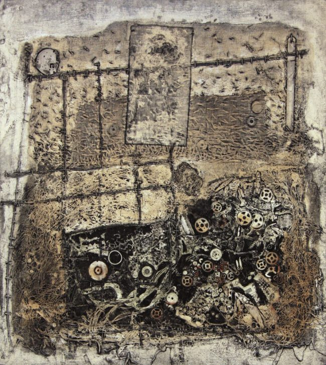 Yang Feng - Ash Pit. Syntetisk trykk, 73 x 68 cm