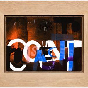 Magne Furuholmen – To Raise Counteractions. Monotypi / olje på lerret, 98 x 78 cm inkl. ramme (2015)