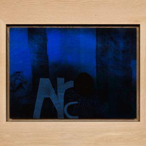 Magne Furuholmen – Arc. Monotypi / olje på lerret, 98 x 78 cm inkl. ramme (2015)