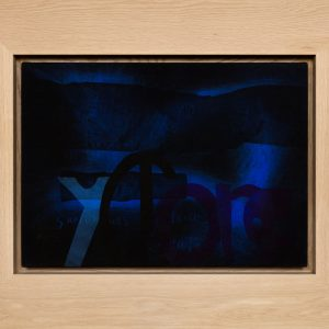 Magne Furuholmen – Sartorious Cyclone Creations. Monotypi / olje på lerret, 98 x 78 cm inkl. ramme (2015)