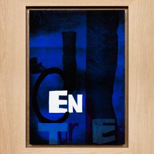 Magne Furuholmen – Centuries. Monotypi / olje på lerret, 78 x 98 cm inkl. ramme (2015)